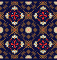 maltese and oriental geometric background seamless vector image vector image