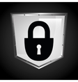 security icon design vector image vector image