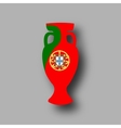 sport competition cup Portugal participant vector image vector image