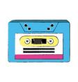 music old cassette vector image