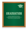 Graduation On Board Education Concept vector image