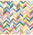 chevron background colorful stripped seamless vector image