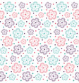 pattern flower ornate3 vector image vector image