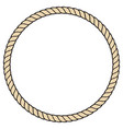 rope round icon vector image