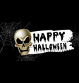 scary jack o lantern halloween pumpkin vector image vector image