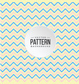 zigzag pattern blue pink yellow line background ve vector image vector image