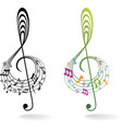 Background with music note vector | Price: 1 Credit (USD $1)