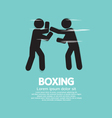 Boxing EPS10 vector image vector image