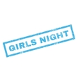 Girls Night Rubber Stamp
