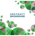 template abstract for wallpaper presentation vector image