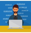Programming and coding Flat vector image