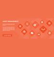 asset management banner 10 icons conceptaudit