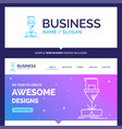 beautiful business concept brand name cutting vector image vector image