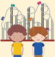 Childrens entertainment vector image