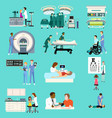 medical healthcare activities cliparts vector image