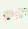 modern backgrounds with abstract elements vector image vector image