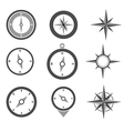 Navigation Compasses vector image vector image