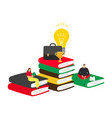 self education concept vector image vector image