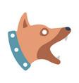 watchdog flat vector image vector image