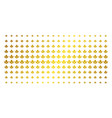 water drop service cog golden halftone pattern vector image