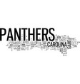 what will carolina panthers tickets be worth for vector image vector image