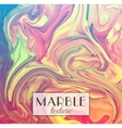 Marble texture abstract colorful background vector image
