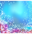 modern blurred abstract glittering christmas vector image
