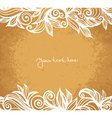 Absract floral background vector image