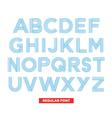 type font stripes retro vintage