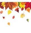 Autumn Retro Vintage Border vector image vector image