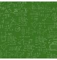 Formula in blackboard vector image vector image