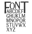 hand drawing typography vector image vector image