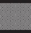 hexagon original japanese modern traditional patt vector image