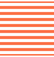 pattern red horizontal stripe seamless design vector image vector image
