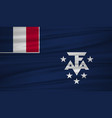 southern french flag flag of southern french vector image