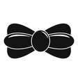 trendy bow tie icon simple style vector image vector image