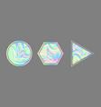 vaporwave style holographic