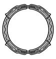 ancient celtic scandinavian mythological symbol vector image vector image