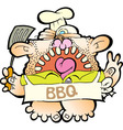 Barbeque Dad - RGB vector image vector image