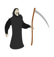 death scythe icon isometric style vector image