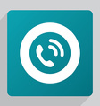 flat call icon vector image