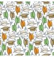 graduete cups pattern vector image