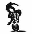 stunt vector image vector image