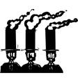 Business Smokestacks vector image vector image