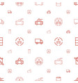 diesel icons pattern seamless white background vector image vector image