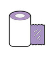 gauze to cure of people and medical element vector image vector image