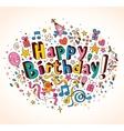 Happy Birthday 2 vector image vector image
