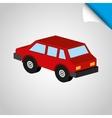 isometrics car icon design vector image
