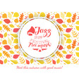 jazz festival free music banner template vector image vector image