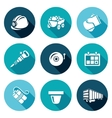 Mine Icons Set vector image vector image